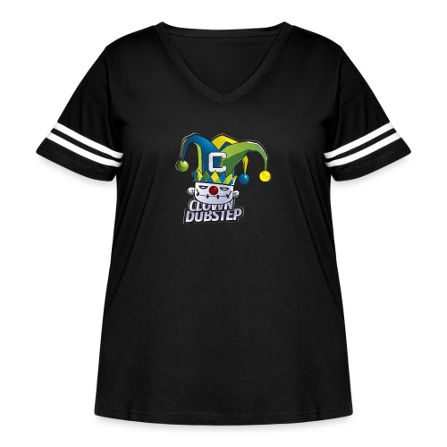 Clown Ye! - Women's Curvy Vintage Sport T-Shirt