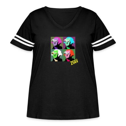 ZGW - The Warhol Tee - Women's Curvy Vintage Sport T-Shirt