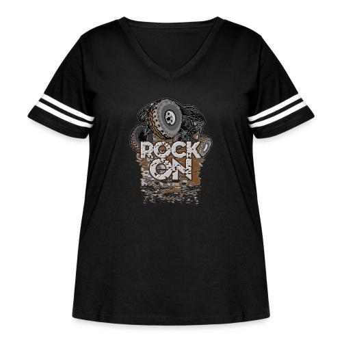 Rock Bouncer Buggy - Women's Curvy Vintage Sport T-Shirt