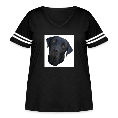 bentley2 - Women's Curvy Vintage Sport T-Shirt