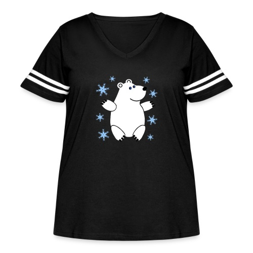 Icebear - Women's Curvy Vintage Sport T-Shirt