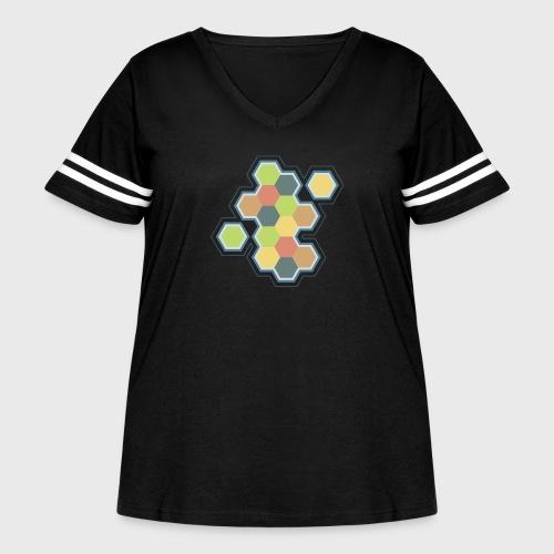 Settlers of Catan - Women's Curvy Vintage Sport T-Shirt