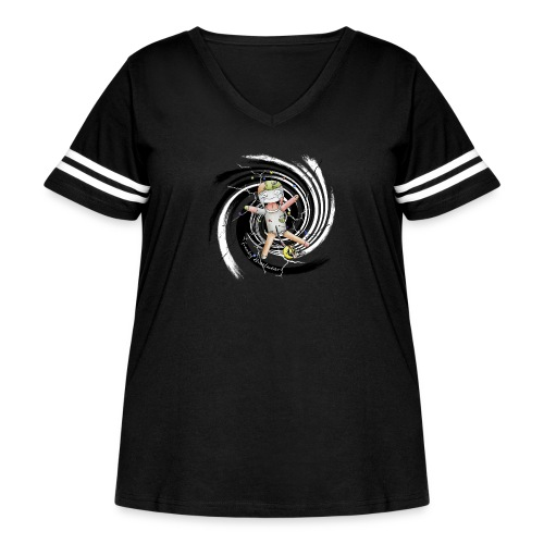 chuckies first dream - Women's Curvy Vintage Sport T-Shirt