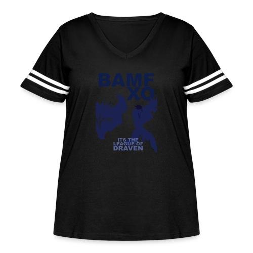 DRAV copy png - Women's Curvy Vintage Sport T-Shirt