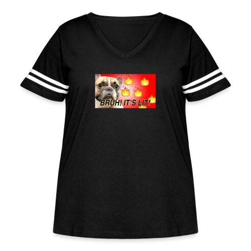IMG 1465 - Women's Curvy Vintage Sport T-Shirt