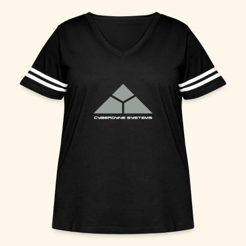 Cyberdyne Systems - Women's Curvy Vintage Sport T-Shirt