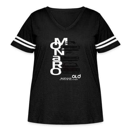 monaro over - Women's Curvy Vintage Sport T-Shirt
