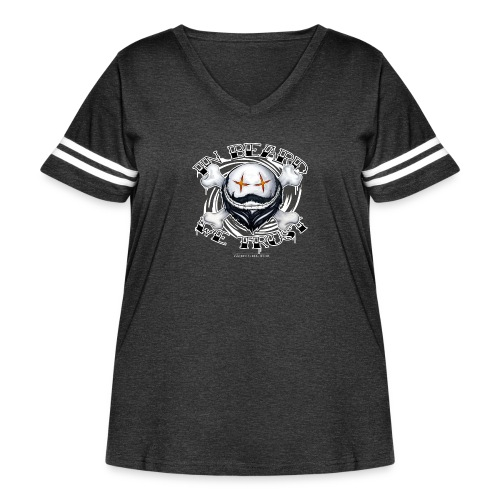 in beard we trust - Women's Curvy Vintage Sport T-Shirt