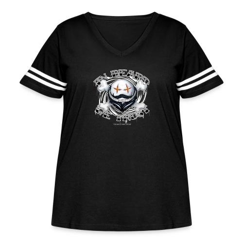in beard we trust - Women's Curvy Vintage Sport T-Shirt
