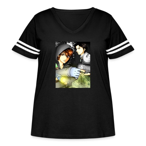 P I E Poster - Women's Curvy Vintage Sport T-Shirt