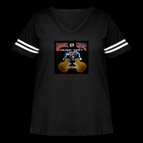 RocknRide Design - Women's Curvy Vintage Sport T-Shirt