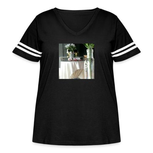 Spread the Love! - Women's Curvy Vintage Sport T-Shirt