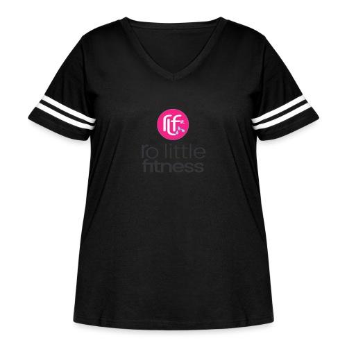 Ro Little Fitness - Women's Curvy Vintage Sport T-Shirt