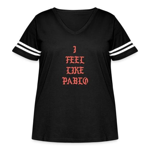 Pablo - Women's Curvy Vintage Sport T-Shirt