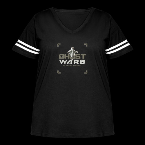 Ghostware Square Logo - Women's Curvy Vintage Sport T-Shirt