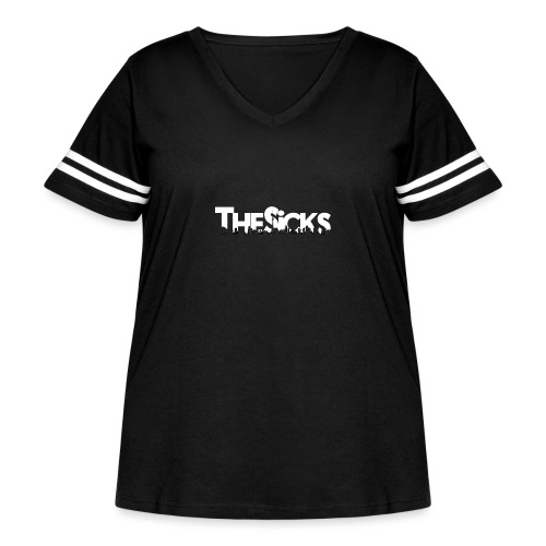 The Sicks - white - Women's Curvy Vintage Sport T-Shirt
