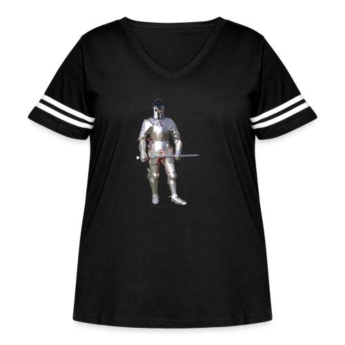 Plate Armor Bring it men's standard T - Women's Curvy Vintage Sport T-Shirt
