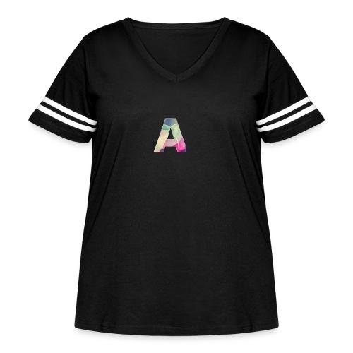 Amethyst Merch - Women's Curvy Vintage Sport T-Shirt