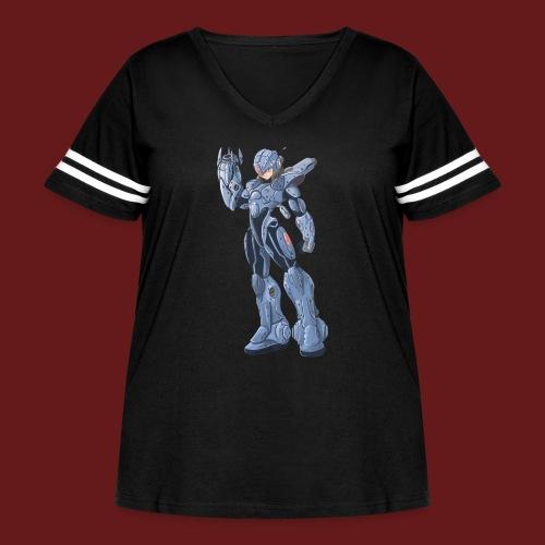 megaman X Armor png - Women's Curvy Vintage Sport T-Shirt