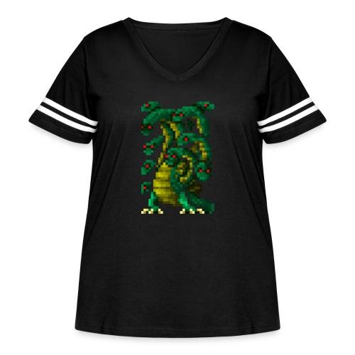 Hydra - Women's Curvy Vintage Sport T-Shirt