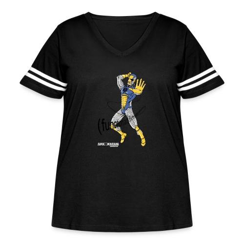 Super Developer - Women's Curvy Vintage Sport T-Shirt