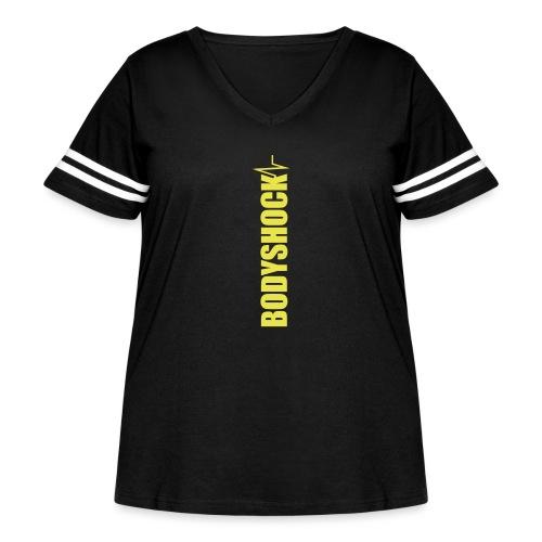BodyShock Leggings - Women's Curvy Vintage Sport T-Shirt