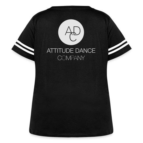 ADC Logo - Women's Curvy Vintage Sport T-Shirt
