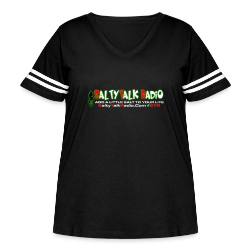 str front png - Women's Curvy Vintage Sports T-Shirt