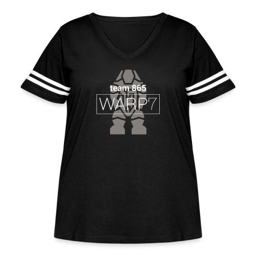 Official 2016 Crew Neck - Women's Curvy Vintage Sport T-Shirt
