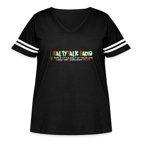 str front png - Women's Curvy Vintage Sport T-Shirt