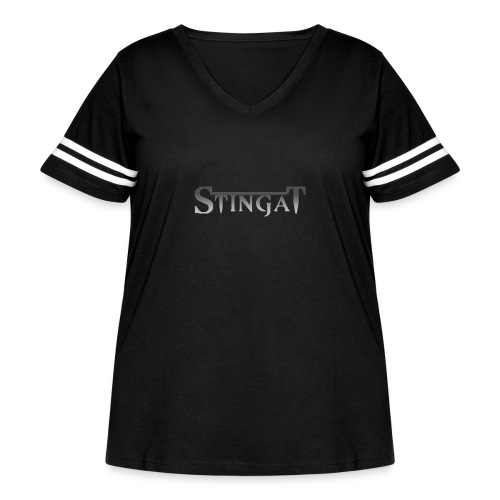Stinga T LOGO - Women's Curvy Vintage Sports T-Shirt