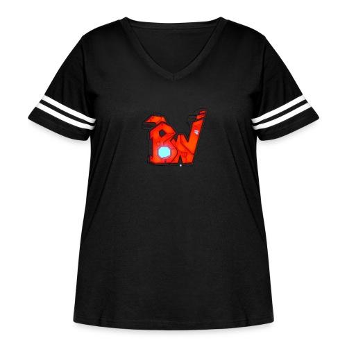 BW - Women's Curvy Vintage Sport T-Shirt