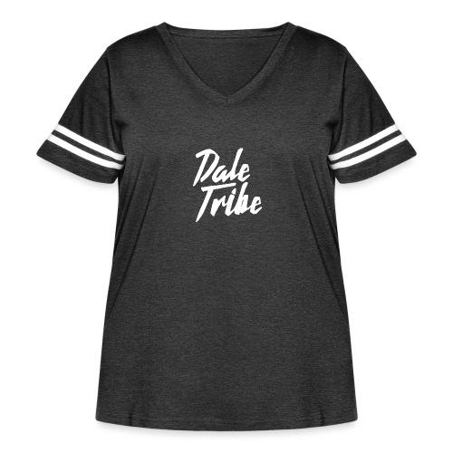 Dale Tribe Logo - Women's Curvy Vintage Sport T-Shirt