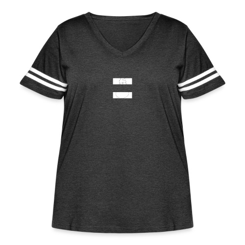 Nimble - Women's Curvy Vintage Sport T-Shirt