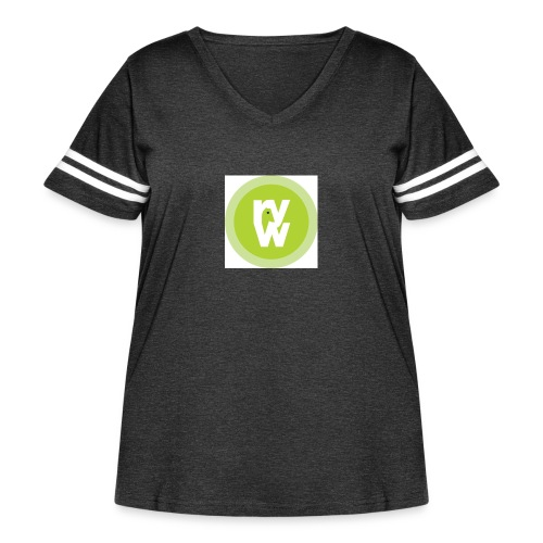 Recover Your Warrior Merch! Walk the talk! - Women's Curvy Vintage Sport T-Shirt