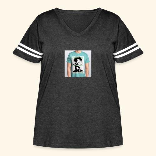 foolish boy come here - Women's Curvy Vintage Sport T-Shirt