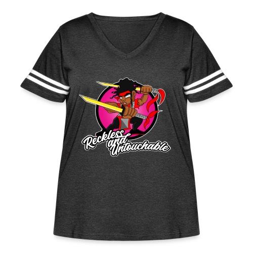 ru won 01 - Women's Curvy Vintage Sport T-Shirt