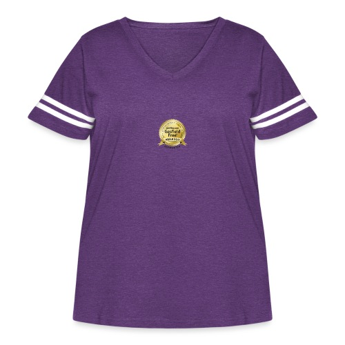 Supporters Collection - Women's Curvy Vintage Sport T-Shirt