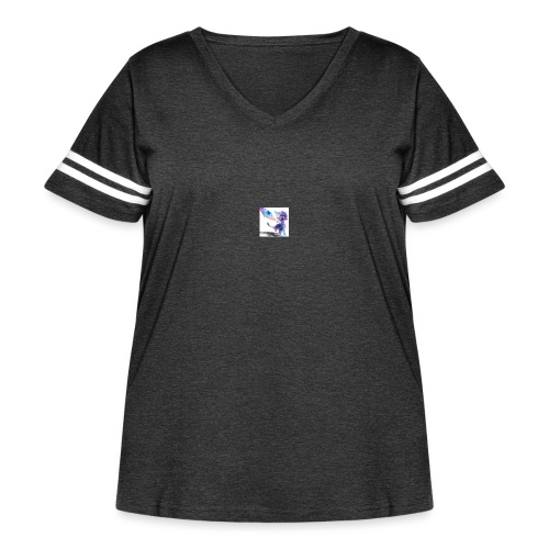 Spyro T-Shirt - Women's Curvy Vintage Sport T-Shirt