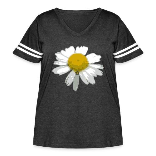 Daisy - Women's Curvy Vintage Sport T-Shirt