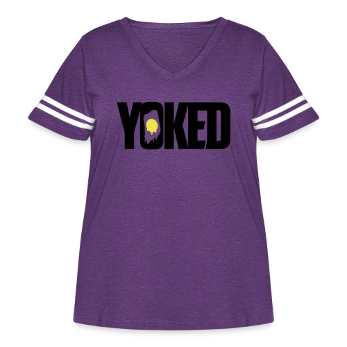 YOKED - Women's Curvy Vintage Sport T-Shirt
