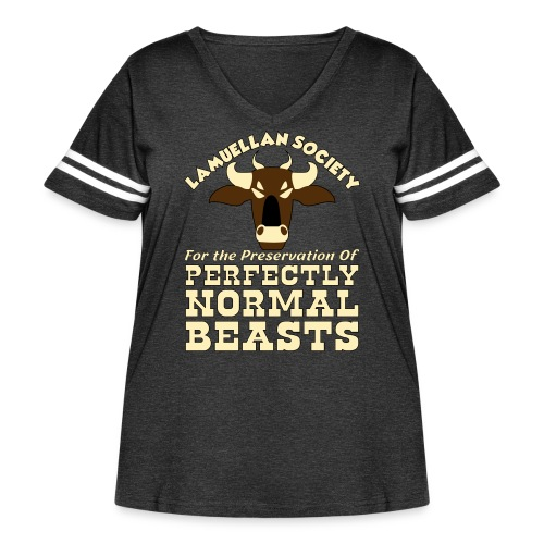 Perfectly Normal Beasts - Women's Curvy Vintage Sport T-Shirt
