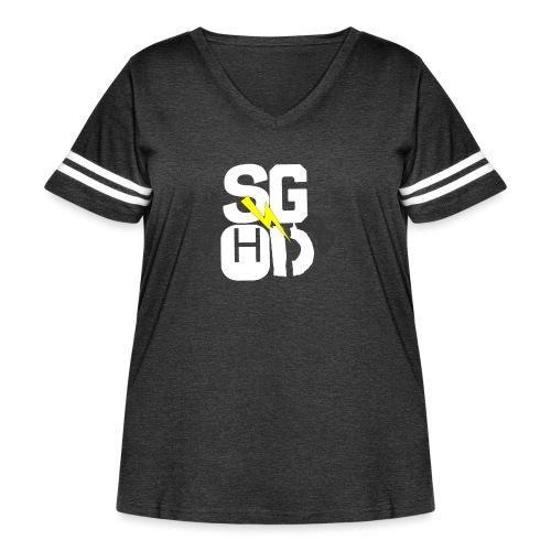 IMG_0350 - Women's Curvy Vintage Sport T-Shirt