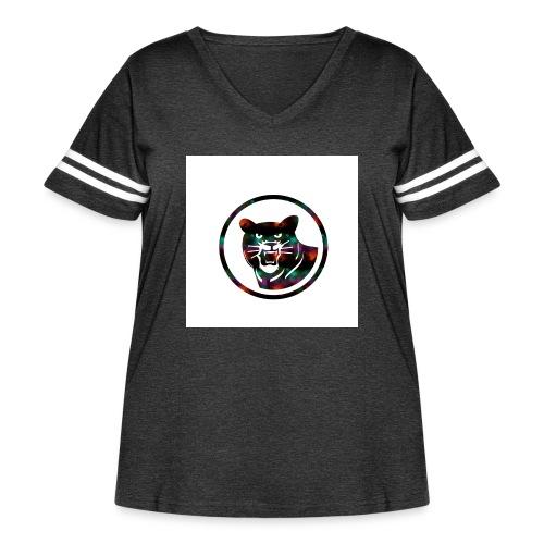 Jaguar - Women's Curvy Vintage Sports T-Shirt
