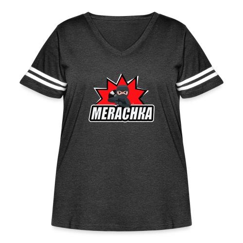 MERACHKA - Women's Curvy Vintage Sport T-Shirt