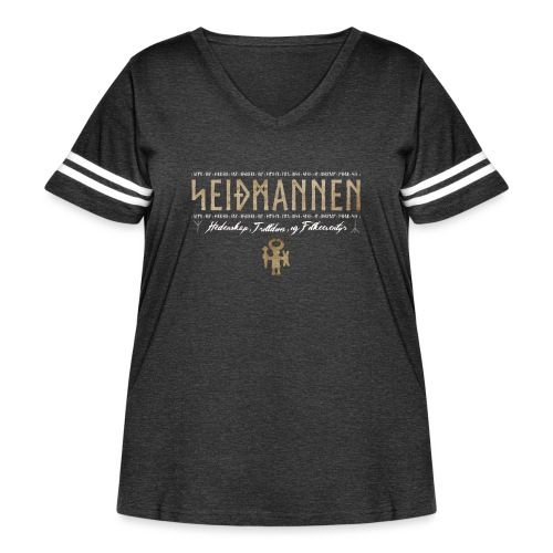 SEIÐMANNEN - Heathenry, Magic & Folktales - Women's Curvy Vintage Sports T-Shirt