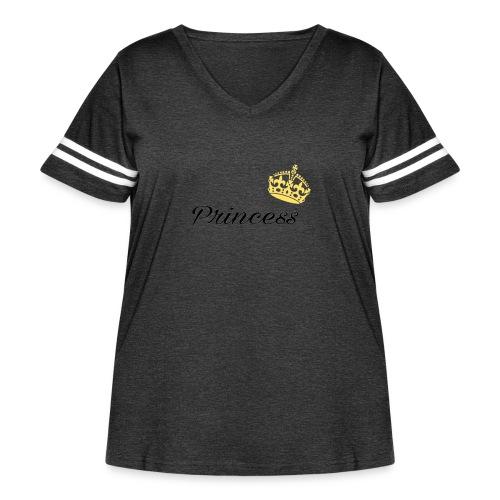 Princess - Women's Curvy Vintage Sport T-Shirt