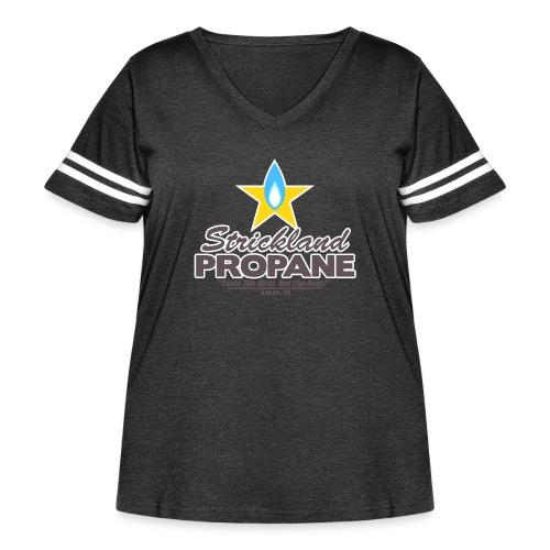 Strickland Propane Mens American Apparel Tee - Women's Curvy Vintage Sport T-Shirt