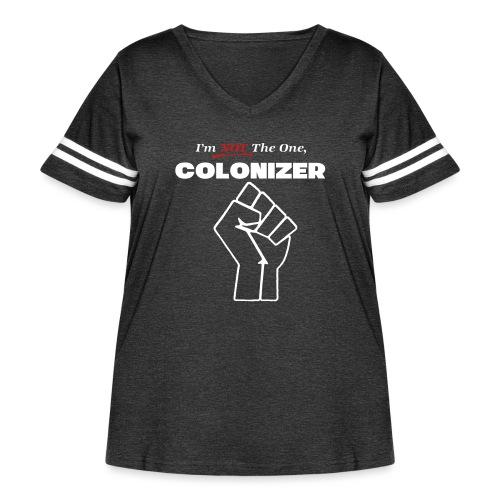 colonizer - Women's Curvy Vintage Sport T-Shirt