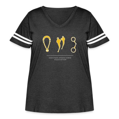 Traditions - Women's Curvy Vintage Sport T-Shirt